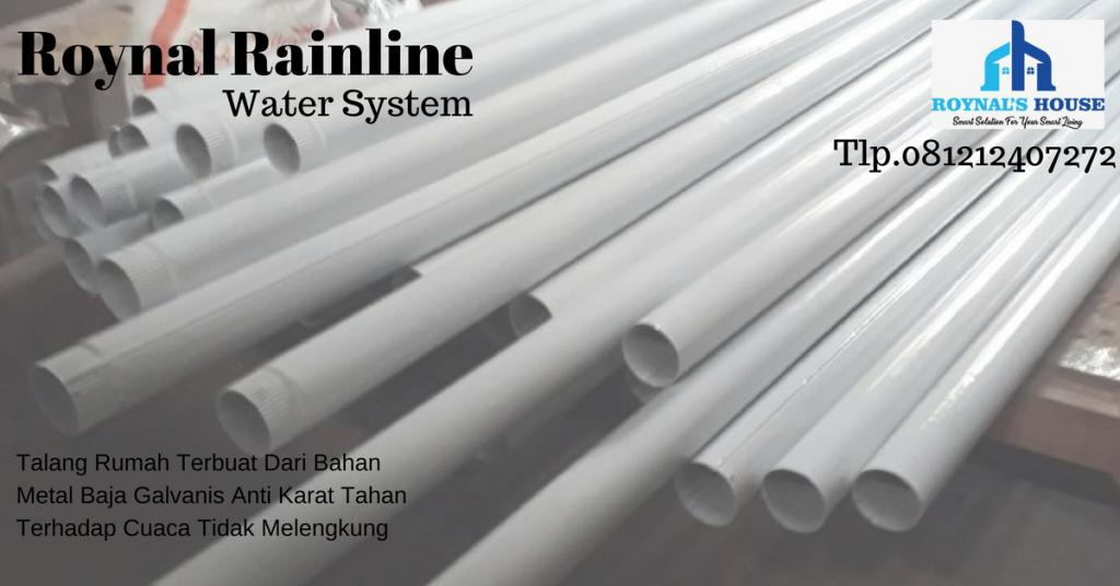 distributor talang air hujan metal baja galvanis